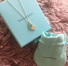 tiffany co return to tiffany double blue enamel mini heart tag pendant