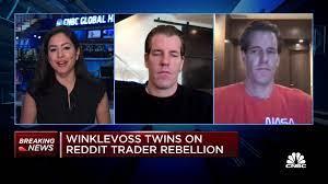 Winklevoss twins on GameStop frenzy