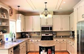 Painting Over Kitchen Cabinets Gorgeous 48 Painted Kitchen Cabinet Ideas Helpful Articles %