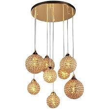 8 light pendant chandelier pendant lights in bar