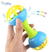 <b>1 pcs Funny Baby</b> Soft Teether Rattles toy <b>Newborn's</b> Early ...