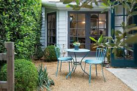 turquoise patio table and chairs