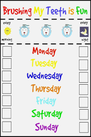 Teeth Cleaning Chart Free 70 Memorable Tooth Brush Chart
