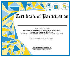 Certificate Of Participation Templates Certificates Best Certificate Of Participation Template