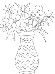 Small Picture Flower Vase Coloring Page Children Coloring Coloring Coloring Pages