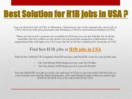 Best Job Portal In Usa H1b Jobs In Usa