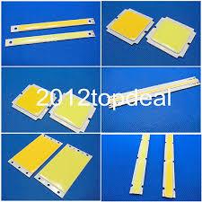5 20 50W COB LED Square/ Strip Light Lamp Bead Chip diy DC 12 ...