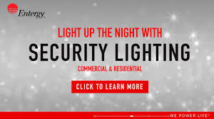Entergy Lights Number Outdoor Lighting For Savings And Security Circuit By Entergy