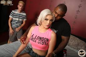 Jenna Ivory fucks big black Dick while BF watches 1 of 2