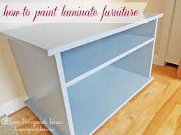 paint laminate furniture64 best Cheapo shelves images on Pinterest  Painting laminate