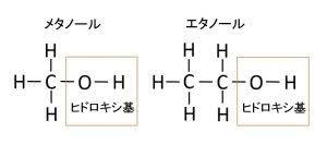 メタノール と エタノール の 違い