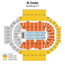 Xl Center Hartford Tickets Schedule Seating Chart