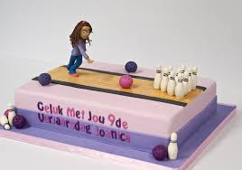 Bowling Pin Cake Decorations Ten Pin Bowling Cake Sport cakes Pinterest Bowling Cake and 79