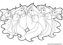 Horse Coloring Book Pages Books For Adults Colouring Kids