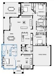 house plans kids bedroom ensuite my ideal floor plan large master bedroom with ensuite and walk in robe