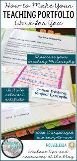Best 25 Teacher Portfolio Ideas On Pinterest Teaching Portfolio