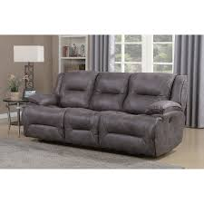 dylan dual power reclining sofa with memory foam seat toppers and usb charging ports today overstock 17610820