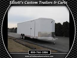 2019 featherlite trailers 4926 24 enclosed car trailer with escape door