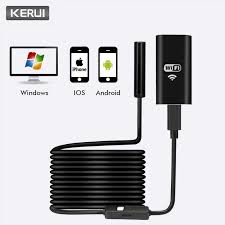<b>KERUI Wireless</b> Mini Waterproof 1M 2M 5M <b>WiFi HD</b> 720P 8mm ...