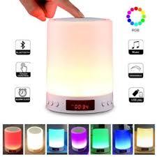 <b>Colorful Breathing Light</b> Bluetooth Speaker Multiple Uses Audio Box ...