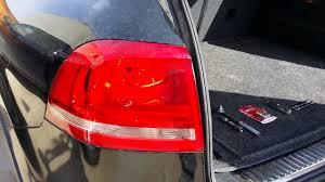 Vw Touareg Light Bulb Replacement 2012 Vw Touareg Taillight Bulb Change