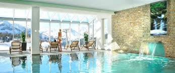 hotel indoor pool. Hotel With Panoramic Indoor Swimming Pool