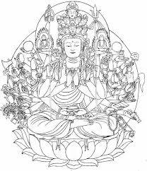 子歳の守り本尊 千手観音 ストラップ仏像仏画チベット美術卸の天竺堂