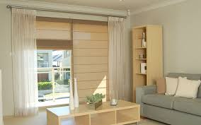 add a soft touch to your home with fabric roman blinds