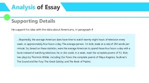 essay analysis no time to by david mccullough 7 analysis of essay