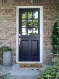 Dutch Door with Screen that is Retractable-So you don't see it!