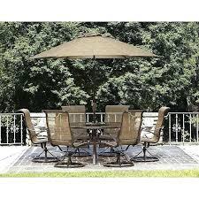 garden oasis harrison patio furniture 7 piece dining set
