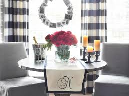 how to make a no sew monogrammed table runner