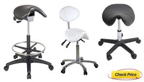 Brilliant Desk Chair For Back Pain The Saddle Stool Image Intended Inspiration Decorating