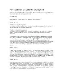 Letter Of References Examples Character Reference Letter Example And Writing Tips Of