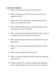 gattaca worksheet answers worksheets library and  gattaca essay questions