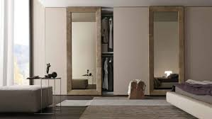 Modern Bedroom Door Bedroom Minimalist Side Table Coupled With Comfortable Padded