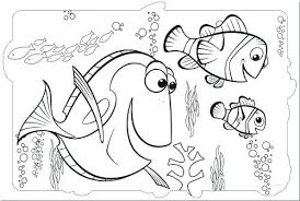 Finding Nemo Dory Coloring Pages Coloring Pages To Print Finding