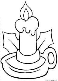 Christmas Light Bulb Coloring Pages Printable