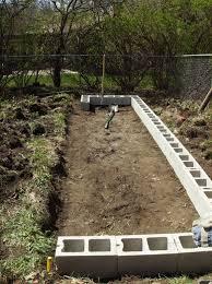 Small Picture DIY Raised Garden Beds With Cinder Blocks Home Design Garden