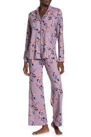 Shimera Long Sleeve Shirt Pants 2 Piece Pajama Set Nordstrom Rack