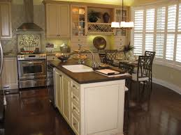 Wood Floor Kitchen Kitchen With Dark Wood Floors And White Cabinets Cliff Kitchen