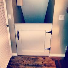 Gate For Stairs Diy Dutch Door Half Door Style Baby Gate For Stairs So Much