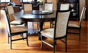 dining room round kitchen table set for 6 black wood dining table kitchen table for 6