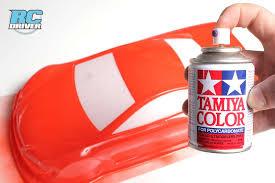 Tamiya Polycarbonate Paint Chart Endless Painting Possibilities Tamiya Polycarbonate Spray