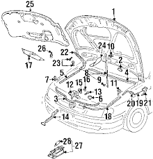 parts com® volkswagen passat sunroof oem parts 2004 volkswagen passat gl l4 2 0 liter diesel sunroof