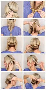 Die Besten 25 Haarband Frisur Ideen Auf Pinterest Frisuren Mit