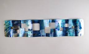 home interior authentic teal metal wall decor stratton home santorini s07661 the depot from teal
