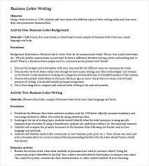 Business Communication Letters Pdf 50 Business Letter Templates Pdf Doc Free Premium Templates