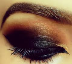 how to achieve a prom makeup for brown eyes picture