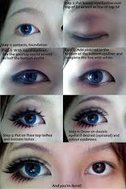 cosplay eye make up tutorial